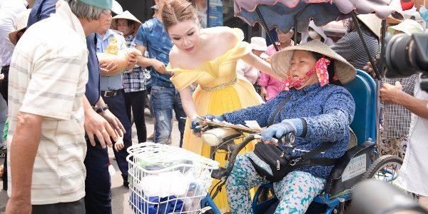 Nghi vấn thiện để đánh bóng tên tuổi, Hoa hậu Bùi Thị Hà nói gì?
