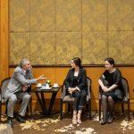 Lý Nhã Kỳ trang trọng đón tiếp phái đoàn ngoại giao Rumani