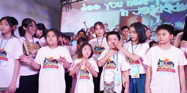 Trại hè Quốc tế International Kidscamp 2019 mang đến nhiều cảm xúc đẹp