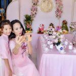 Ngoc Diễm hạnh phúc trong ngày đính hôn em gái