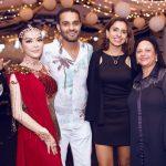 Lý Nhã Kỳ tiếp tục diện váy Ấn Độ trong tiệc sinh nhật tỉ phú