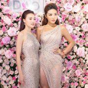Kỳ Duyên, Ninh Dương Lan Ngọc mặc tone-sur-tone đến sự kiện Sắc – Hoa Anh Đào