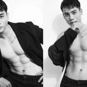Cao Xuân Tài khoe vẻ điển trai bình dị trong bộ ảnh đen trắng