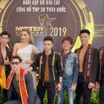 NTK Lê Lên và dàn thí sinh cực phẩm chung kết Mister Việt Nam