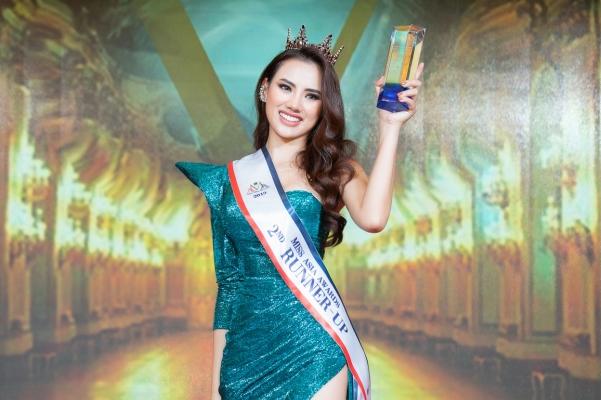Hà Vi Vi lên ngôi Á hậu 2 tại Hoa hậu Châu Á 2019