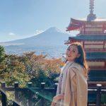 Tường San học trà đạo, ngắm núi Phú Sĩ