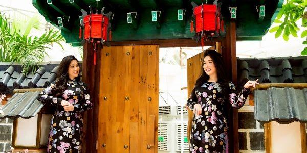 Hồng Vân, Hồng Đào tìm lại ký ức ngày xưa với áo dài