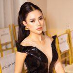 """Á hậu Châu Á Hà Vi Vi """"lên đồ"""" cá tính dự show thời trang"""