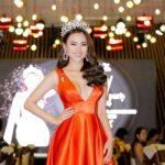 Á hậu Châu Á Hà Vi Vi được mẹ tổ chức sinh nhật trên sân khấu