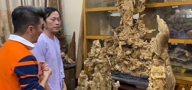 Hoài Linh khoe phòng chứa trầm hương bạc tỷ