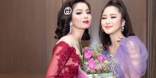 Hương Tràm lái xe 3 tiếng trong giá rét tìm mua hoa tặng Lệ Quyên