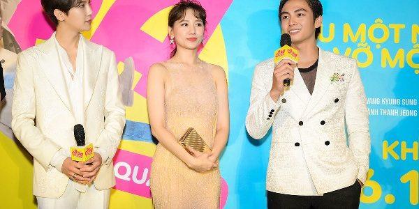 Lãnh Thanh soái ca làm 'người thứ 3' đứng cạnh Hari Won, Park Jung Min