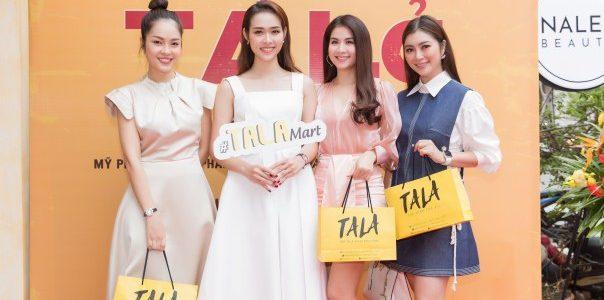 Diệp Bảo Ngọc khai trương cửa hàng tiêu dùng Tala đầu tiên