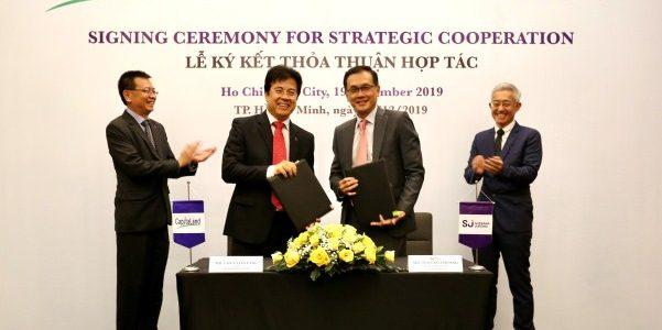 CapitaLand và Surbana Jurong hợp tác phát triển đô thị thông minh