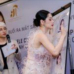 Chi Pu rạng rỡ tại buổi ra mắt sản phẩm chăm sóc da đến từ Hàn Quốc
