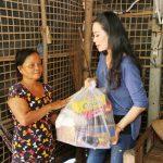 NSƯT Trịnh Kim Chi xúc động hoàn cảnh của bà cụ ở Tây Ninh