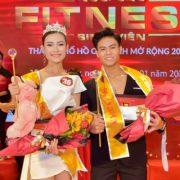 Minh Nhất, Minh Thu đạt giải Quán quân Ngôi sao Fitness Sinh Viên TP.HCM mở rộng 2020