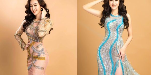 Hoa khôi Anika Trinh Trinh cuốn hút với váy xuyên thấu