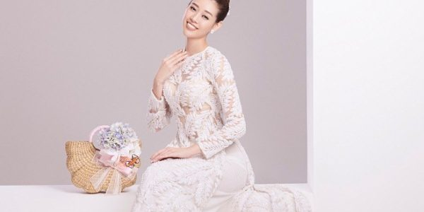 """Khánh Vân chứng tỏ sức hút từ danh xưng """"Người đẹp áo dài"""""""