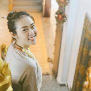 Diệp Bảo Ngọc góp sức làm thiện nguyện trong ngày Phật Đản