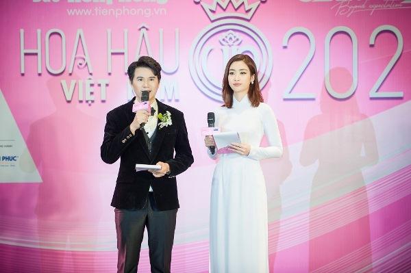 Vũ Mạnh Cường dành lời khen ngợi Hoa hậu Đỗ Mỹ Linh