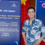 Cao Xuân Tài háo hức làm MC cùng giải Thể hình Nam Nữ Physique 2020