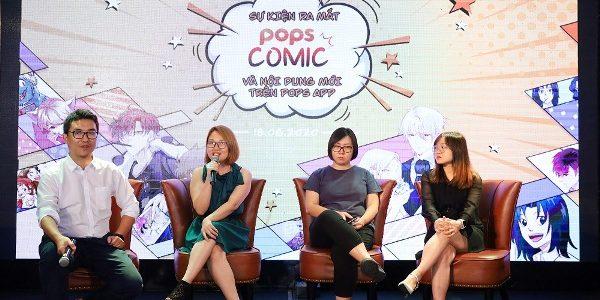 POPS giới thiệu cách trải nghiệm truyện tranh mới – Movingtoon