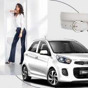 Mix & match trang phục cùng xe Kia Morning của cô nàng sành điệu