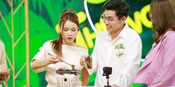 """""""Thỏ trắng"""" Jun Phạm – Sam làm MC chương trình Góc Bếp Thông Minh"""