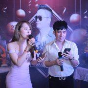 Việt Anh, Quỳnh Nga dự sinh nhật bầu Quang Cường