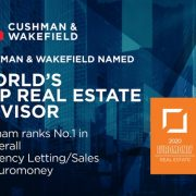 Cushman & Wakefield được vinh danh tại giải thưởng Euromoney