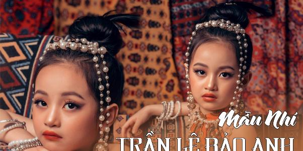 Mẫu nhí Trần Lê Bảo Anh – Gương mặt gây thương nhớ của Siêu sao mẫu nhí Việt Nam 2020
