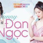 """Sunny Đan Ngọc trở thành """"Nàng thơ"""" của NTK Hoàng Hải tại Vietnam Runway Fashion Week 2020"""