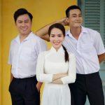 Dương Kim Ánh diện áo dài trắng, kể chuyện tình yêu học trò