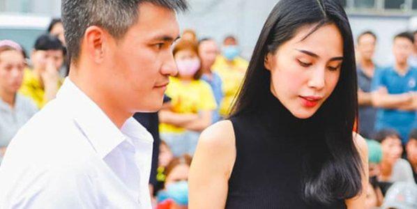 Thủy Tiên trở lại miền Trung cùng chồng