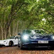 Xe thể thao thuần điện Porsche Taycan ra mắt tại Việt Nam