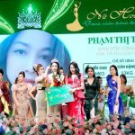 """Trả lời ứng xử """"ngắn nhất trong lịch sử"""", Phạm Thị Thúy Hà đăng quang danh vị Á hoàng đầy bất ngờ"""