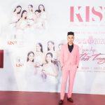 Hồ Quang Ngọc tự tin trên thảm đỏ Người đẹp biển Hoa hậu VN 2020