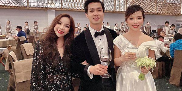 Thực đơn tiệc cưới mang ý nghĩa tình yêu của Công Phượng