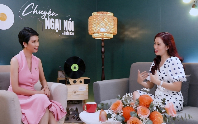 Á hậu Quý bà Thu Hương xem vợ cũ của chồng như chị em