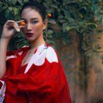 Người đẹp Ái Nhi tung bộ hình thời trang, được ví như Chương Tử Di