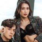 Sam phanh áo sexy bên Ngô Kiến Huy