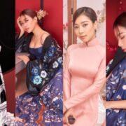 Miss Asia 2017 Linh Huỳnh khơi gợi vẻ đẹp Tết châu Á qua bộ ảnh chào Xuân 2021