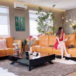 Phòng khách rộng 100 m2 của Khánh My