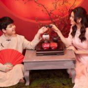"""Trương Quỳnh Anh khoe vẻ đẹp """"hack tuổi"""" bên cạnh con trai Sushi"""