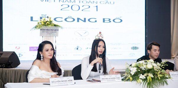 Lần đầu tiên Hoa hậu Du lịch Việt Nam Toàn cầu có thi trang phục dân tộc