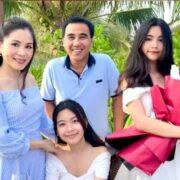 Vợ chồng Quyền Linh mừng con gái lớn tròn 15 tuổi