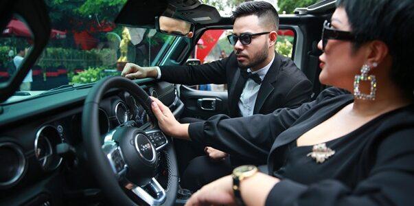 Ca sĩ Doanh nhân Nguyễn Thu Trang sở hữu xe Jeep Wrangler lần đầu tiên có mặt tại Hà Nội
