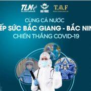 Tập đoàn TLM và TAF Media chi hơn 200 triệu đồng tiếp sức Bắc Giang, Bắc Ninh