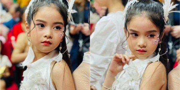 Thiên thần nhí Phùng Ngọc Ngân Hà 'bén duyên' tại Miss And Mr Kid 2021